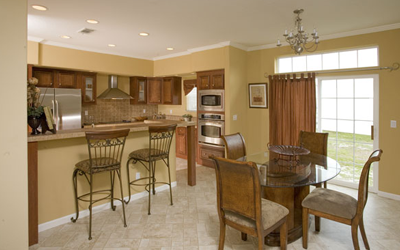Remodeled Dining and Kitchen